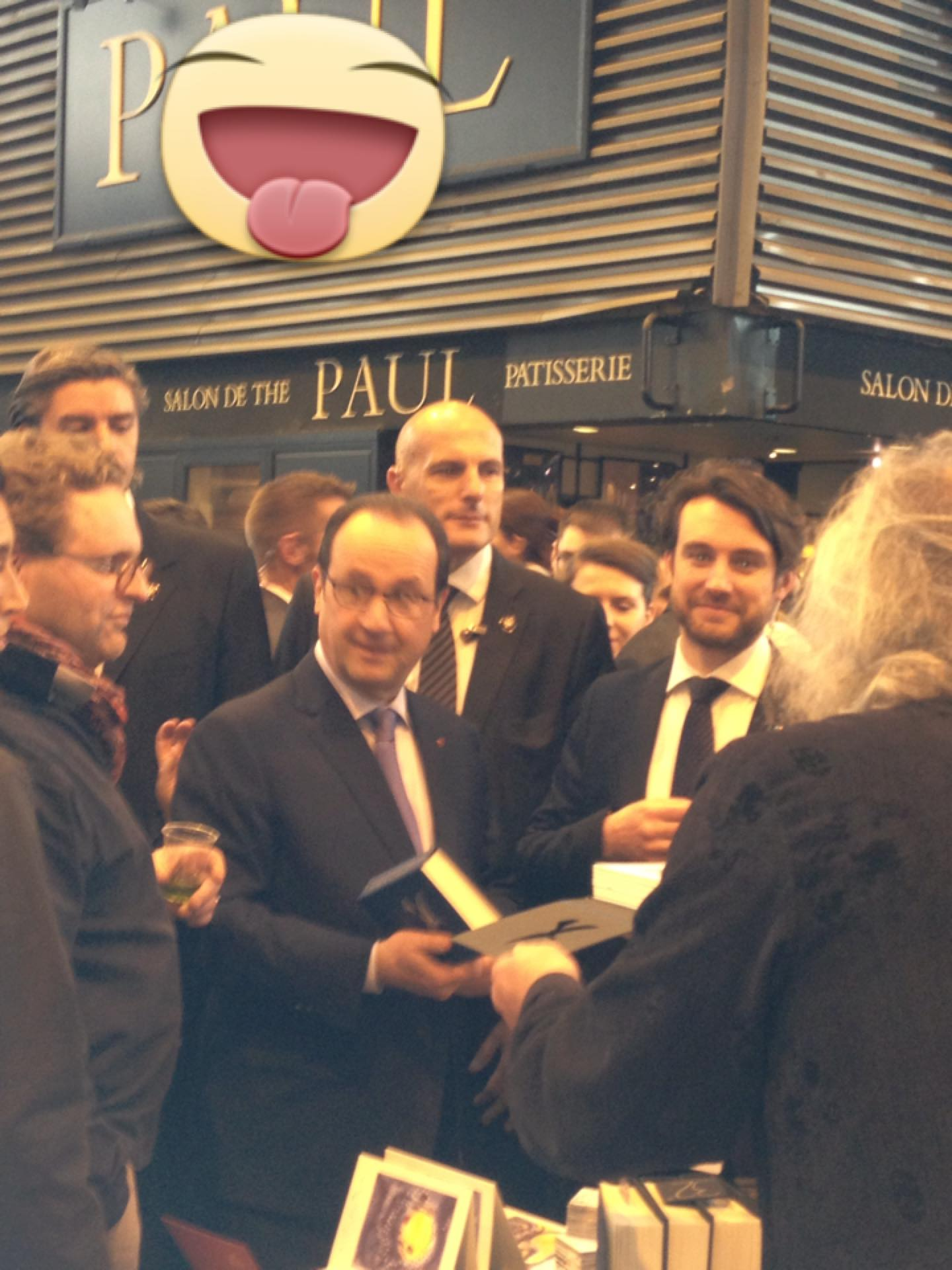 Hollande Salon Paris