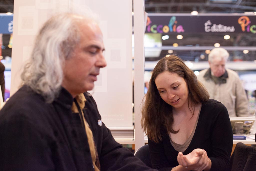 apeiron salon du livre Paris 2015